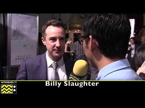 Billy Slaughter  I  Geostorm Premiere  I  2017