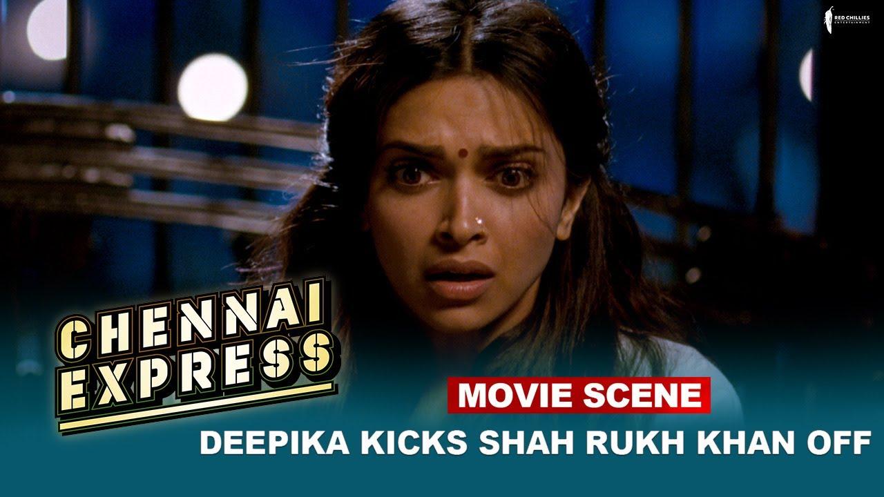 Download Deepika Kicks Shah Rukh Khan off   Movie Scene   Chennai Express    A Film By Rohit Shetty