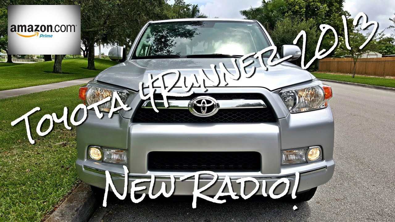 toyota 4runner 2010 2013 sr5 aftermarket radio installation rh youtube com 1998 Toyota 4Runner Parts Diagram 1988 Toyota Truck Wiring Diagram