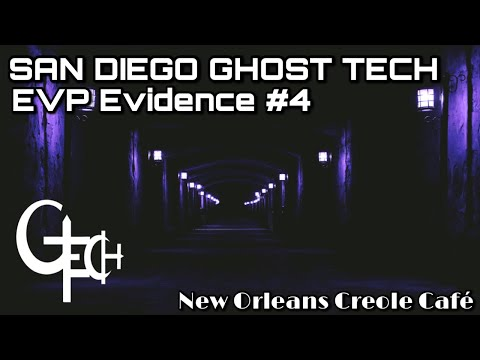 Ghost Box Evidence at New Orleans Creole Cafe on November 8, 2017