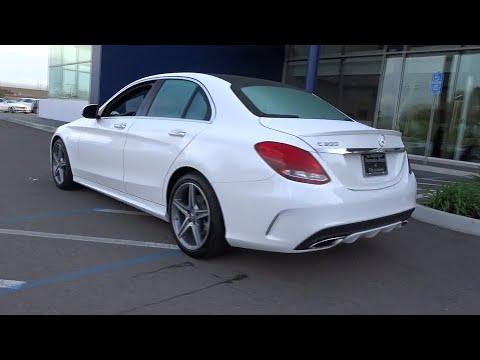 2016 Mercedes-benz C-class Pleasanton, Walnut Creek