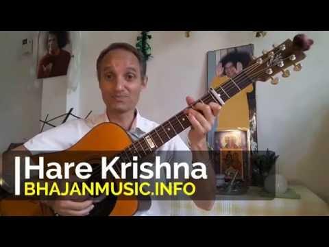 How to play Hare Krishna Hare Krishna by BhajanMusic
