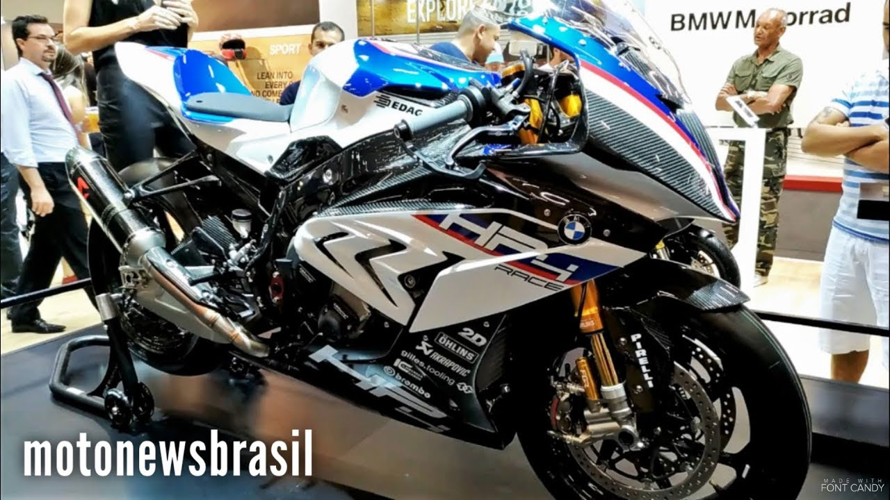 new 2018 bmw hp4 race walkaround sao paulo moto show 2017 youtube. Black Bedroom Furniture Sets. Home Design Ideas