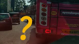 Kerala private bus extreme driving skills, overtake, and race.