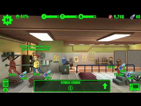Pregnant Exercise - Fallout Shelter
