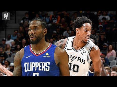 Los Angeles Clippers vs San Antonio Spurs - Full Game Highlights | November 29 | 2019-20 NBA Season