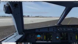 KSFO-KLAS AMERICAN AIRLINES A319-100 P3DV4