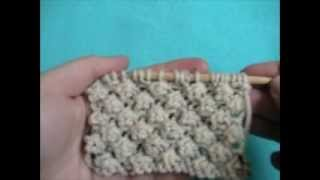 Repeat youtube video Knitting How To: Trinity Stitch