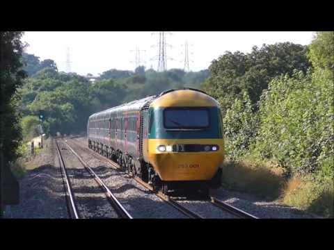 GWR  Hst,s at Keynsham 23/7/2016.