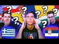 AMERICANS TRY TO GUESS BALKAN FLAGS