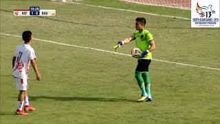 SAG FOOTBALL NEPAL VS BHUTAN 4-0 HIGHLIGHTS
