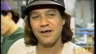 Eddie Van Halen ET interview April 1994