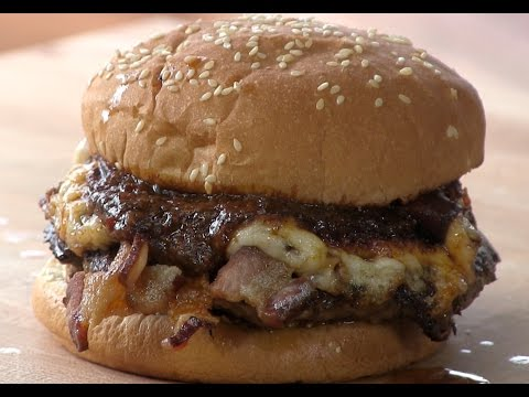 Bossman Mike's Don't Cry For Me Argentina style Smashed Burger