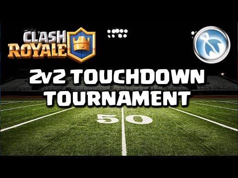 MONDAY NIGHT FOOTBALL (2v2 TD tournament, 3k stars in prize) - Clash Royale
