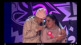 """Justin Bieber performing ''One Less Lonely Girl"""" Live at #PurposeInto - 07/12/2015"""