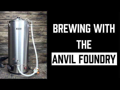 Anvil Foundry - Unboxing And Brew Day Review Of The All-Grain Brewing System