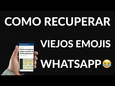 Cómo Recuperar los Viejos Emojis de WhatsApp