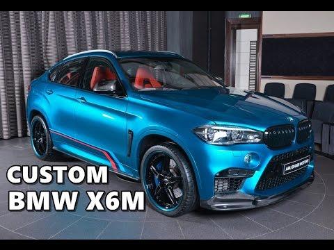 Custom Bmw X6m 3d Design Ac Schnitzer Akrapovic M