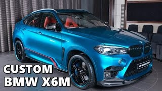 Custom BMW X6M (3D Design, AC Schnitzer, Akrapovic, M Performance)
