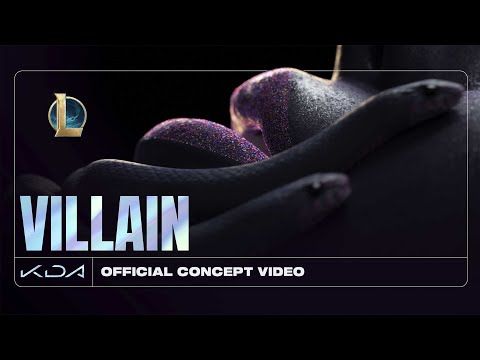 K/DA - VILLAIN ft. Madison Beer and Kim Petras (Official Concept Video - Starring Evelynn)