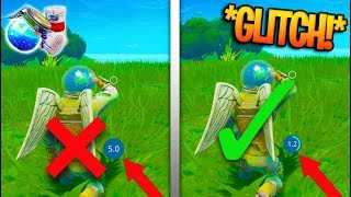 TAKE POTION IN 1 SECOND GLITCH! *LIMITED TIME* GLITCH in Fortnite Battle Royale!