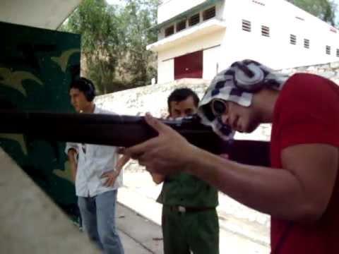 Bắn súng ak, m16,m1 tại trường bắn thể thao củ chi