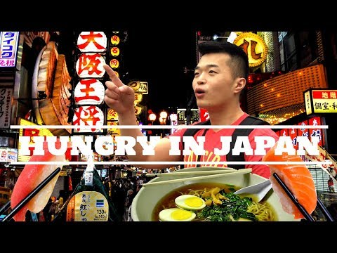 TOP Japan Food in Kyoto+Osaka+Tokyo - WHAT TO EAT IN in Japa