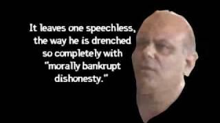 """Morally Bankrupt Dishonesty"": Peter Musurlian"