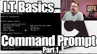 Basic Skills for Entry Level IT Jobs - Command Prompt Part 1