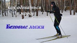 Как одеваться в мороз для беговых лыж