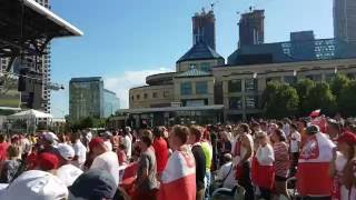 Poland VS Portugal Euro 2016 Penalty Kick Celebration Square 4K
