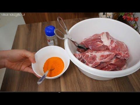 XÁ XÍU / CHARSIU - Bí Quyết ướp Thịt Heo Xá Xíu Thơm Ngon đúng Vị By Vanh Khuyen