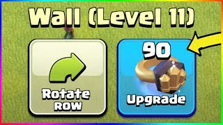 * I SPENT UNGODLY $$$ ON WALL RINGS in CLASH OF CLANS (again...) *