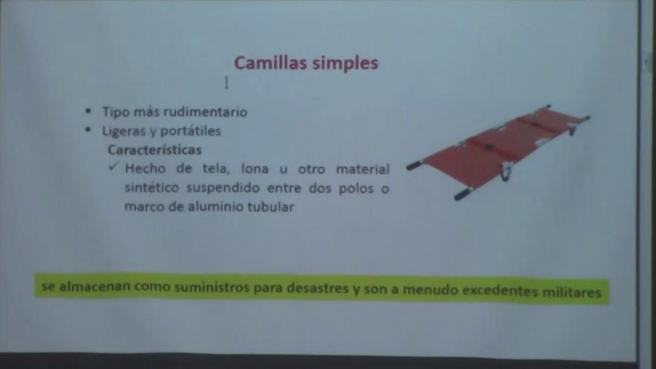 Tipos y usos de camillas. EMS equipos para emergencias medicas - YouTube