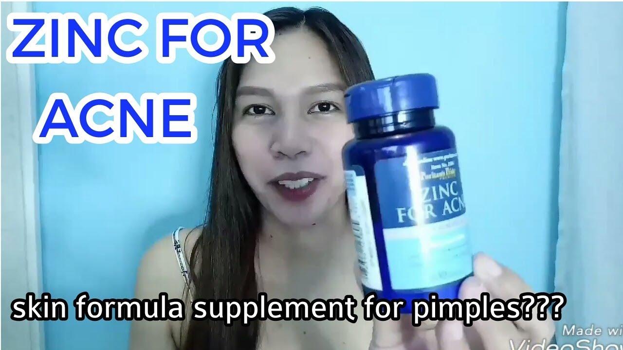 Zinc For Acne Supplement Review Medz Remdrei Youtube