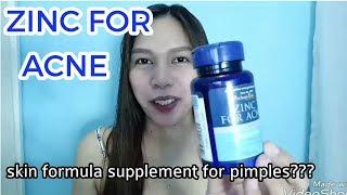 Zinc For Acne Supplement Review || Medz Remdrei