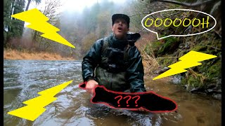 Spinner fishing in Oregon for Salmon and Steelhead surprise big fish