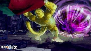 Which attacks can push Gigantic Ki Blast back? - DragonBall Xenoverse 2