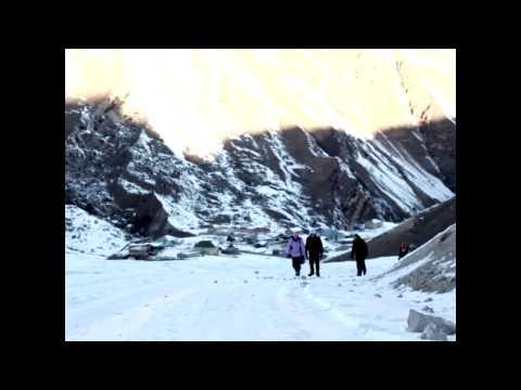 ice climbing - Azerbaijan - Qusar - Laza ( Western University Sport Club )