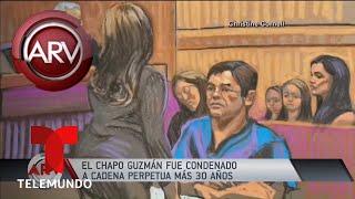 Sentencian al Chapo Guzmán con cadena perpetua y 30 años más | Al Rojo Vivo | Telemundo