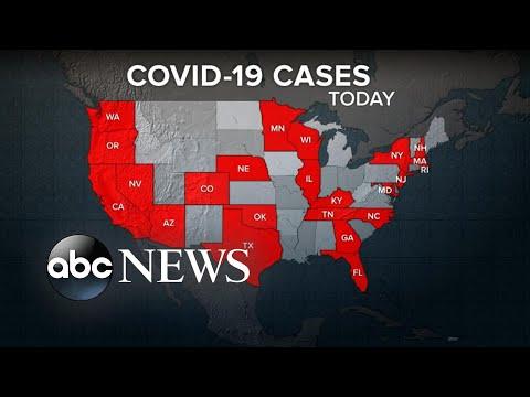 The fallout from the new coronavirus now spreading coast to coast   WNT