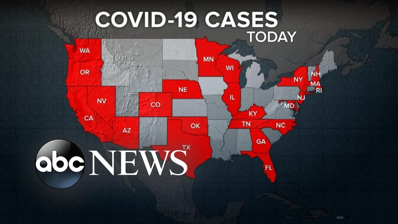 The fallout from the new coronavirus now spreading coast to coast ...
