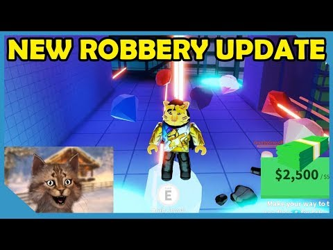 NEW BANK AND JEWELRY STORE UPDATE - ROBLOX JAILBREAK UPDATE