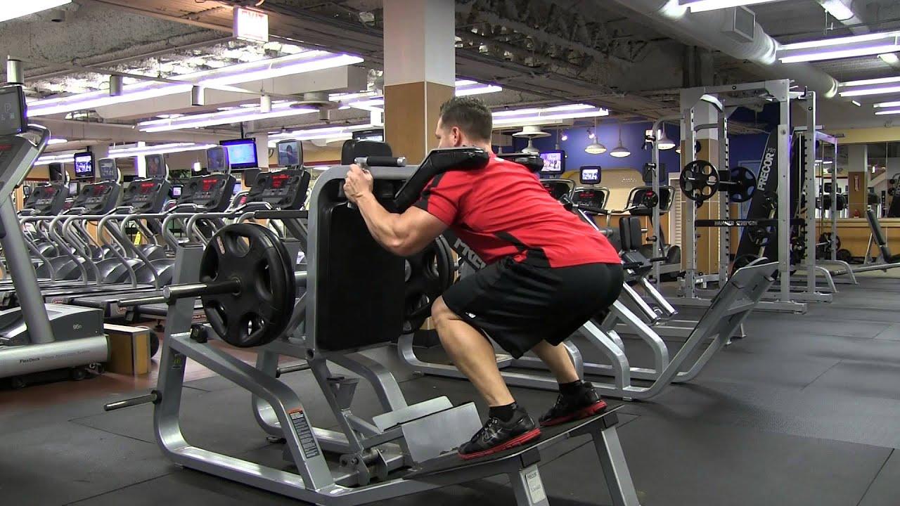 squat thrust machine