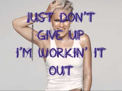 P!nk - Whataya Want From Me w/ Lyrics