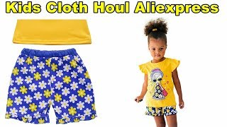 Toddler Girls Clothing Sets Cartoon Kids Clothes | Clothes Haul Aliexpress 2017