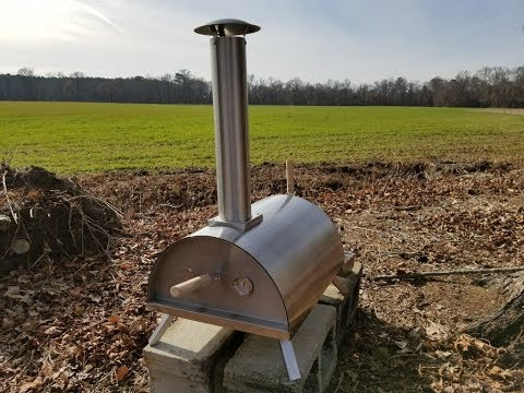 Introducing the Wood Pellet Pizza Oven and Special Birthday