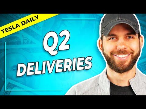 Tesla Announces Q2 Delivery Beat!