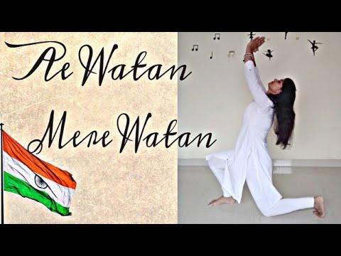 Ae Watan | Raazi | Alia Bhatt | Shubhangi | Independence Day Special | Dance Cover | Preeti