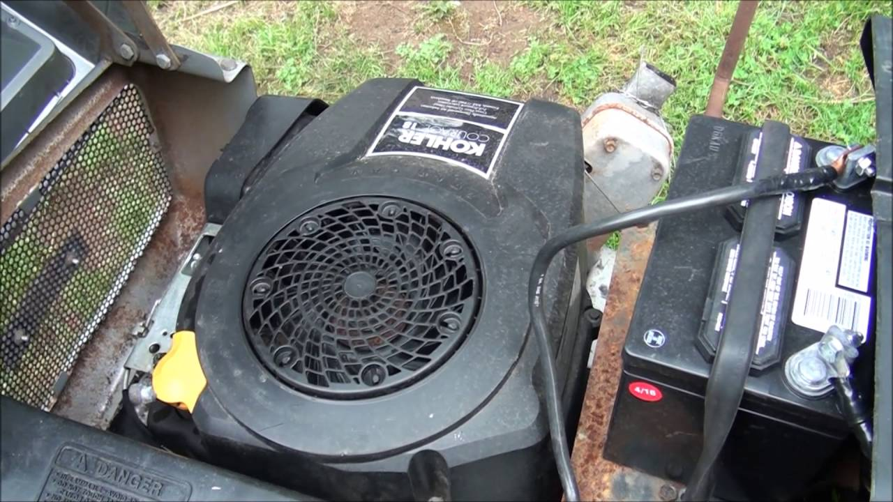 RIDING LAWNMOWER WON'T START    Is it the SOLENOID or Starter Motor  HOW TO TEST